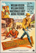 """Movie Posters:Western, Streets of Laredo (Paramount, 1949). One Sheet (27"""" X 41"""").Western.. ..."""