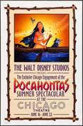 """Movie Posters:Animation, Pocahontas (Buena Vista, 1995). Special Engagement One Sheet & One Sheets (3) (27"""" X 40"""") SS Advance. Animation.. ... (Total: 4 Items)"""