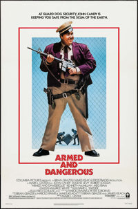"""Armed and Dangerous & Others Lot (Columbia, 1986). One Sheets (19) (27"""" X 40"""" & 27"""" X 41"""")..."""