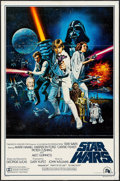 "Movie Posters:Science Fiction, Star Wars (20th Century Fox, 1977). One Sheet (27"" X 41"") FlatFolded Style C. Science Fiction.. ..."