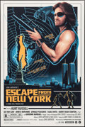 "Movie Posters:Science Fiction, Escape from New York by Matt Ferguson (Grey Matter Art, 2016).Numbered Limited Edition Screen Print Poster (24"" X 36""). Sci..."
