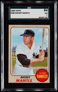 Baseball Cards:Singles (1960-1969), 1968 Topps Mickey Mantle #280 SGC 84 NM 7....