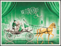 """Movie Posters:Fantasy, The Wizard of Oz by DKNG (Mondo, 2015). Numbered Limited EditionScreen Print Poster (18"""" X 24"""") Yellow Horse Style. Fantasy..."""