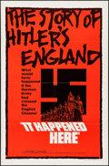 "Movie Posters:War, It Happened Here (United Artists, 1965). One Sheet (27"" X 41"").War.. ..."
