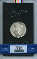 1882-CC $1 GSA MS62 NGC. NGC Census: (2030/16633). PCGS Population: (76/456). From The Lenny Reiner Collection, Part V...