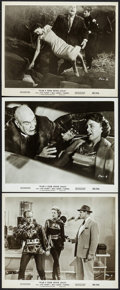 "Movie Posters:Science Fiction, Plan 9 from Outer Space (DCA, 1958). Photos (3) (8"" X 10""). Science Fiction.. ... (Total: 3 Items)"