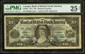 Canadian Currency: , Montreal, PQ- Bank of British North America $10 3.7.1911 Ch. #55-24-07.. ...