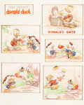 Animation Art:Production Drawing, Donald's Date Good Housekeeping Original Art by Tom Wood(Walt Disney, 1939)....