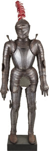 Antiques, Etched Suit of Armor in the 17th Century Style....