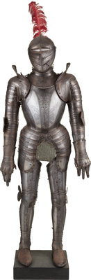 Etched Suit of Armor in the 17th Century Style