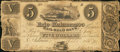 Obsoletes By State:Michigan, Adrian, MI- Erie and Kalamazoo Rail-Road Bank $5 Oct. 1, 1836. ...