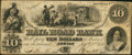Obsoletes By State:Michigan, Adrian, MI- The Erie and Kalamazoo Rail Road Bank $10 Jan. 2, 1854. ...