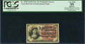 Fractional Currency:Fourth Issue, Fr. 1258 10¢ Fourth Issue PCGS Apparent Very Fine 35.. ...