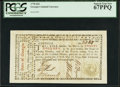 Colonial Notes:Georgia, Georgia May 4, 1778 $20 PCGS Superb Gem New 67PPQ.. ...