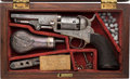 Handguns:Single Action Revolver, Cased and Engraved Colt Model 1849 Pocket Revolver in the Gustave Young Style. ...