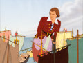 Animation Art:Production Cel, Gulliver's Travels Production Cel and Master Background Setup (Max Fleischer, 1939)....