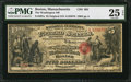 National Bank Notes:Massachusetts, Boston, MA - $5 Original Fr. 397a The Washington NB Ch. # 601. ...