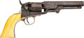 Handguns:Single Action Revolver, Engraved Colt Model 1849 Pocket Single Action Revolver....