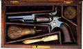 Handguns:Single Action Revolver, Cased Colt 1855 Root Side-Hammer Percussion Revolver....