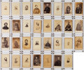 Photography:CDVs, Large and Superb Cartes de Visite Collection of Union and Confederate Commanders....