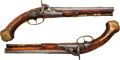 Handguns:Muzzle loading, Pair of Peter Greck Percussion Dueling Pistols.... (Total: 2 Items)