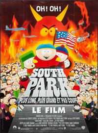 "South Park: Bigger, Longer & Uncut & Others Lot (Paramount, 1999). French Grande (45.5"" X 61.5""..."