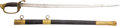 Edged Weapons:Swords, Civil War U.S. Model 1850 Foot Officers' Sword Identified to Captain Charles Walter Sawyer, 4th Regiment New Hampshire Volunte...