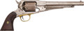 Handguns:Single Action Revolver, Remington New Model Army Percussion Revolver....