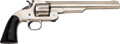 Handguns:Single Action Revolver, Smith & Wesson First Model American Single Action Revolver with Book....