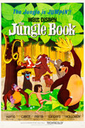 Animation Art:Poster, The Jungle Book Theatrical Poster (Walt Disney, 1967)....