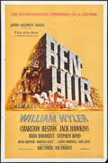 "Movie Posters:Academy Award Winners, Ben-Hur (MGM, 1959). One Sheet (27"" X 41""). Academy Award Winners....."