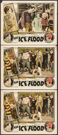 """Movie Posters:Action, The Ice Flood (Universal, 1926). Lobby Cards (3) (11"""" X 14"""").Action.. ... (Total: 3 Items)"""