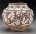 American Indian Art:Pottery, A Zia Polychrome Jar. c. 1910...