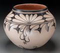 American Indian Art:Pottery, A Cochiti Polychrome Jar. Virgil Ortiz. c. 2002...