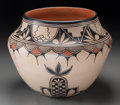 American Indian Art:Pottery, A Cochiti Polychrome Jar. Virgil Ortiz. c. 2003...