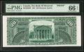 Canadian Currency: , Montreal, PQ- Bank of Montreal $20 1891 Ch. # 505-40-06BP BackProof.. ...