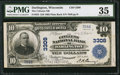 National Bank Notes:Wisconsin, Darlington, WI - $10 1902 Plain Back Fr. 624 The Citizens NB Ch. # 3308. ...