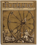 Magazines:Miscellaneous, Fortune Magazine February 1930 First Issue (Paterson ParchmentPaper Co., 1930). Condition NM-....