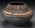 American Indian Art:Pottery, A Santa Clara Brown-On-Buff Jar. Susan Folwell. c. 2005. ...