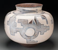 American Indian Art:Pottery, An Acoma Brown-On-Buff Jar. Barbara and Joseph Cerno. c. 1999...