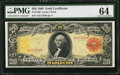 Large Size:Gold Certificates, Fr. 1180 $20 1905 Gold Certificate PMG Choice Uncirculated 64.. ...