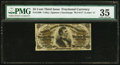 Fractional Currency:Third Issue, Fr. 1300 25¢ Third Issue PMG Choice Very Fine 35.. ...