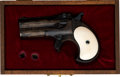 Handguns:Derringer, Palm, Cased Remington Over and Under Derringer....