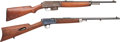 Long Guns:Semiautomatic, Lot of Two Winchester Rifles.... (Total: 2 Items)