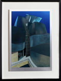 Post-War & Contemporary:Contemporary, Richard Haas (American, b. 1936). Guggenheim Bilbao, 2000.Lithograph and screenprint on aluminum. 24 x 16-1/4 inches (6...