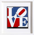 Post-War & Contemporary:Pop, Robert Indiana (American, b. 1928). The American Love, 1975.Enamel on aluminum. 14 x 13-1/2 inches (35.6 x 34.3 cm). St...