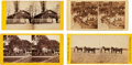 Photography:Stereo Cards, Ulysses S. Grant: Four Stereoviews....