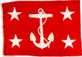 Military & Patriotic:WWII, Under Secretary of the Navy Flag, Circa WWII....