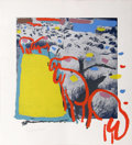 Works on Paper, Menashe Kadishman (Israeli, 1932-2015). Sheep Portfolio (seven works), 1981. Portfolio of seven mixed media prints (seri... (Total: 7 Items)
