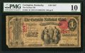 National Bank Notes:Kentucky, Covington, KY - $1 1875 Fr. 384 The German NB Ch. # 1847. ...